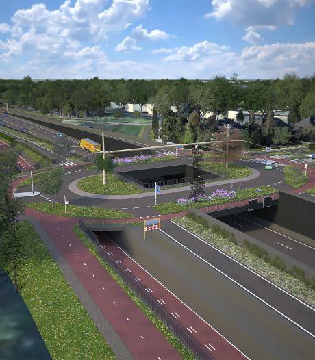 Burgerinitiatief wil geen verdiepte rijksweg N65 maar een graaftunnel: 'Helaas een illusie'