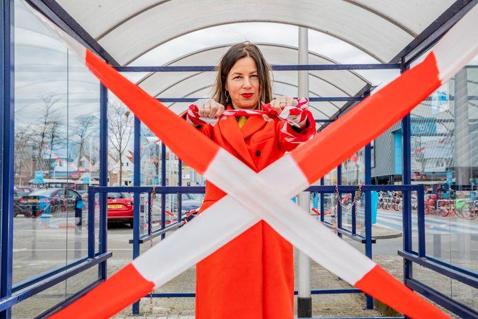 Verslaggever Phaedra Werkhoven zou graag weer gewoon even een boodschap doen.