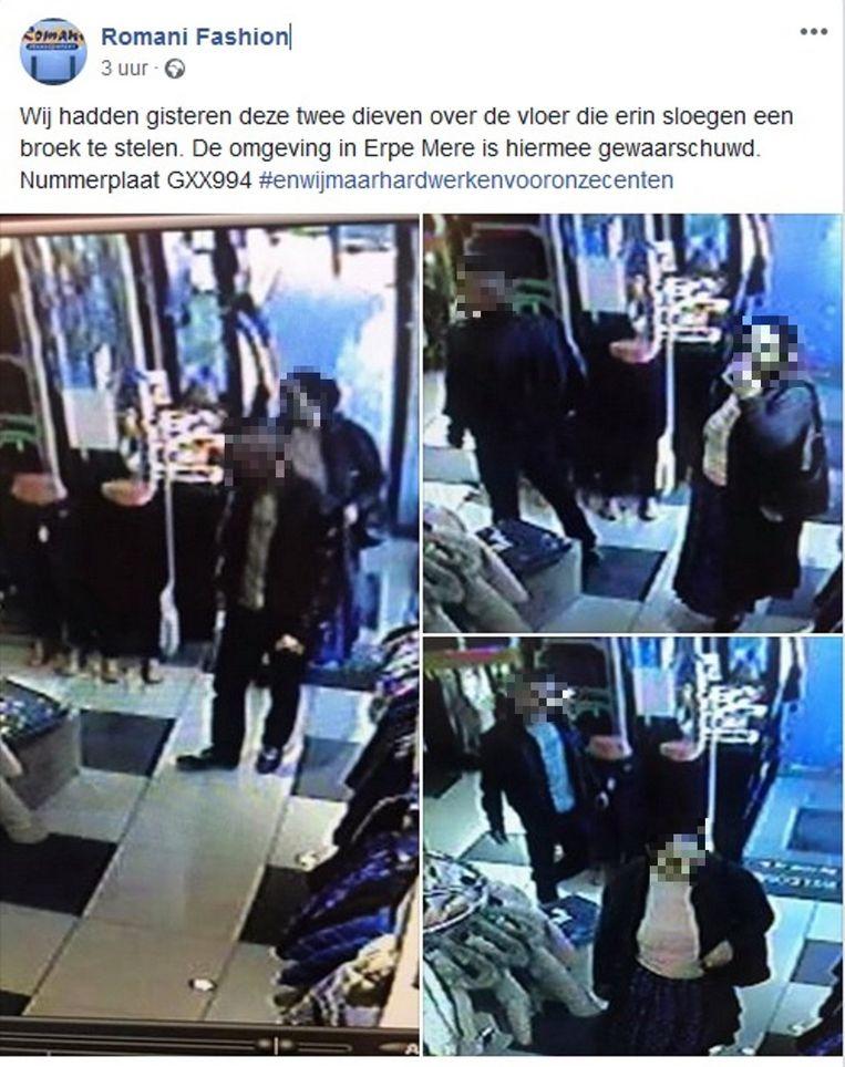 Drie ongecensureerde foto's werden online geplaatst om collega handelaars te waarschuwen.