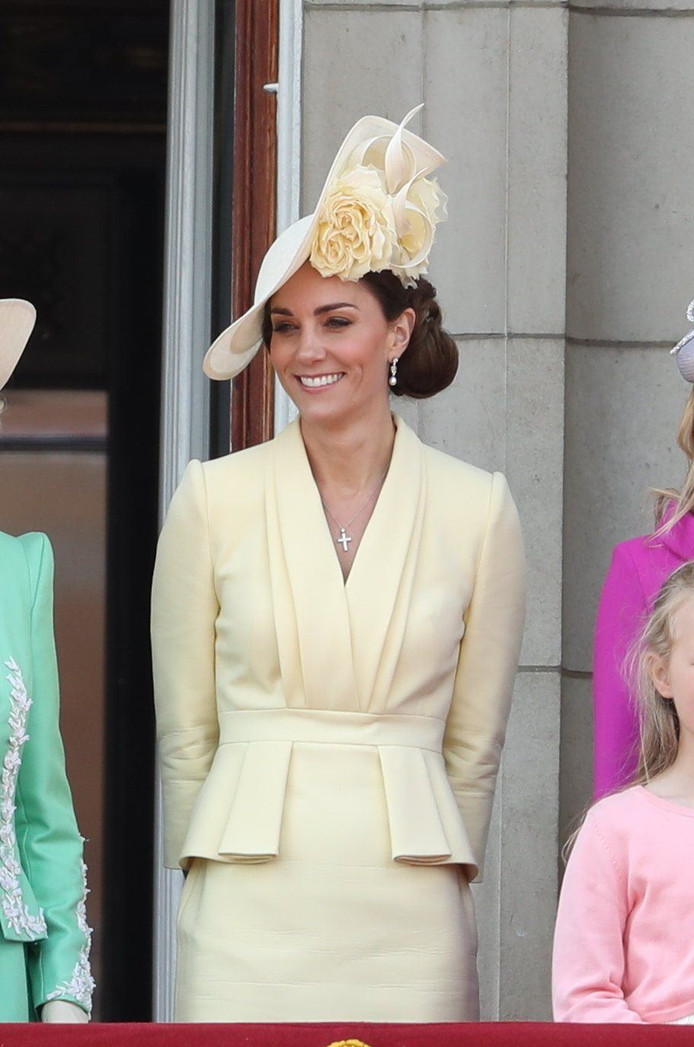 08/06/2019. London, United Kingdom: Royals at Trooping the Colour in London. (Stephen Lock / i-Images / Polaris) ! only BELGIUM ! *** local caption *** 06548372