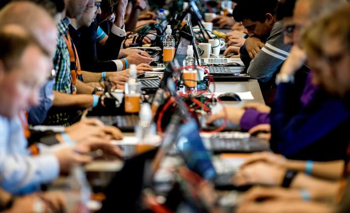 De internationale cybersecurity conferentie One Conference in Den Haag.