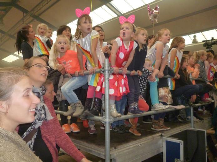Concert van K3 in Schijndel.