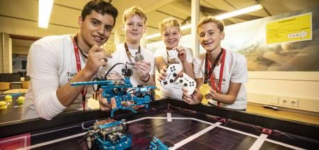 Leerlingen Twents Carmel College plaatsen zich voor robotica WK in China