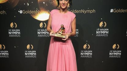 Lynn Van Royen wint prijs voor beste actrice op Monte Carlo Television Festival