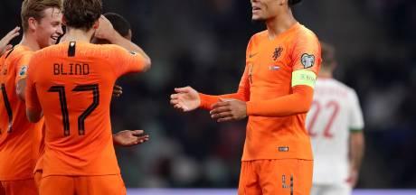 Van Dijk hoopvol over Oranje-missie: 'Heel Nederland snakt naar het EK'