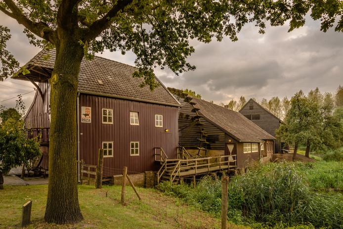 De Opwettense Watermolen in Nuenen is een van de Van Gogh-monumenten in Brabant. Vincent van Gogh schilderde deze molen in 1884.