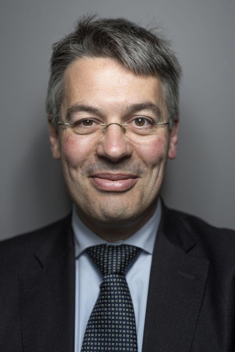 Edgar du Perron, scheidend voorzitter van de Geschillencommissie van Klachteninstituut Kifid. Beeld Mike Roelofs