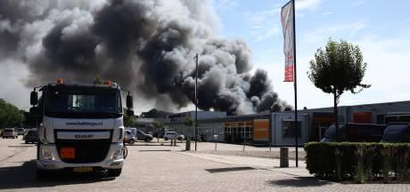 Grote brand die in Culemborg woedde niet aangestoken