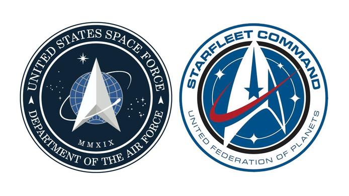 De twee logo's.
