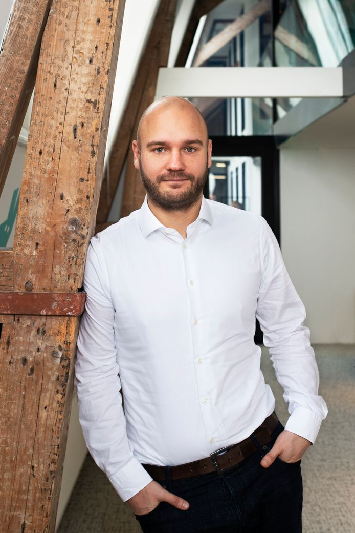 Directeur Stijn Verstijnen is sinds 2015 al betrokken bij Deliveroo Nederland.