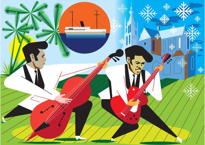 Met de indorock - een eigen variant op de rock 'n roll - veroorzaakten de Tielman Brothers een muzikale revolutie.