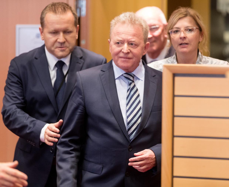 Dinsdag viel de Poolse beoogde Commissaris Janusz Wojciechowski (Landbouw) door de mand. Zijn antwoorden getuigden van gebrek aan kennis en voorbereiding. Beeld Getty