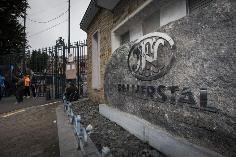 De wapenfabriek van FN in Herstal.