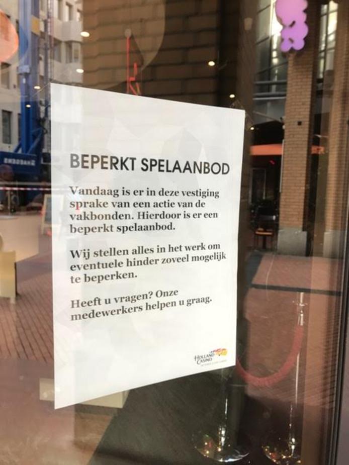 Staking bij Holland Casino in het centrum van Eindhoven