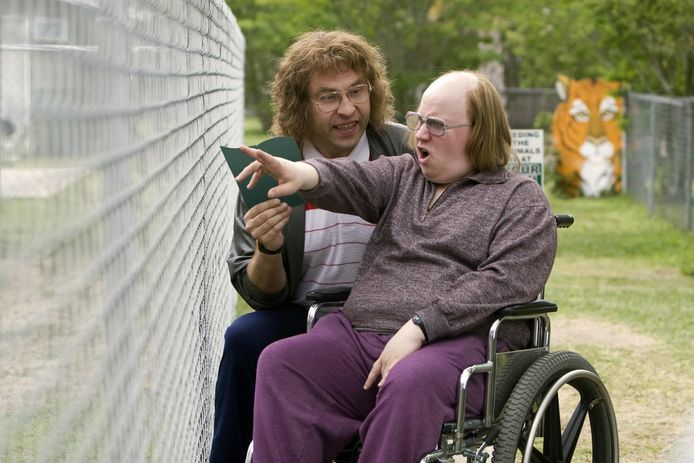 David Walliams en Matt Lucas als Lou en Andy.