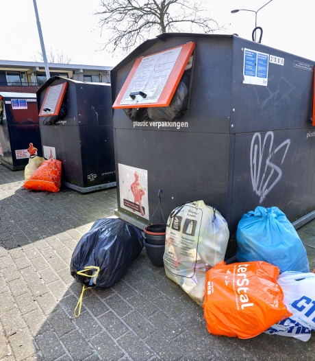 Berg afval in huis groeit nu iedereen thuis zit