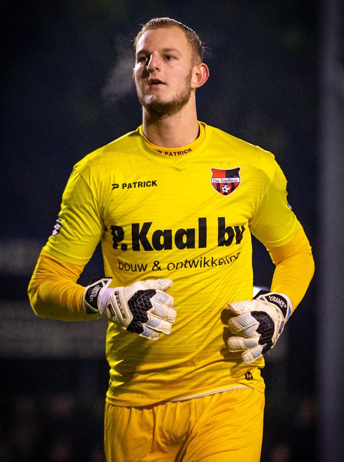 Dani Centen stond onder de lat in het KNVB-bekerduel met FC Twente.