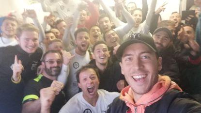 Eden Hazard brengt zijn vrije dag door bij club uit... Derde Amateur