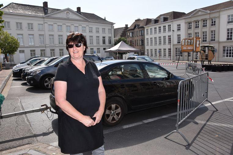 Organisatrice Anne Verhelst van het Kazematje op de Groentenmarkt waar het event deze keer doorgaat