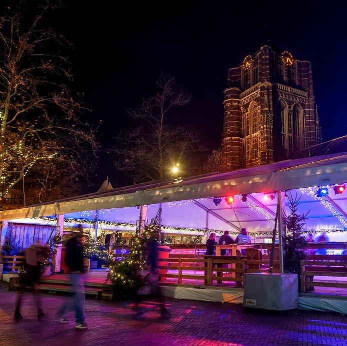 De overdekte IJsmarkt in Oosterhout.