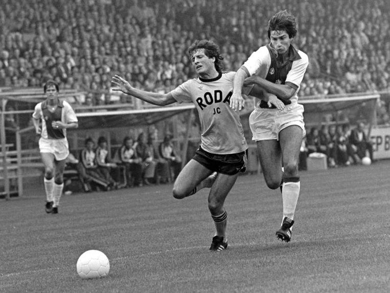 Archiefbeeld van Tscheu La Ling namens Ajax tegen Roda JC. Beeld Soenar Chamid