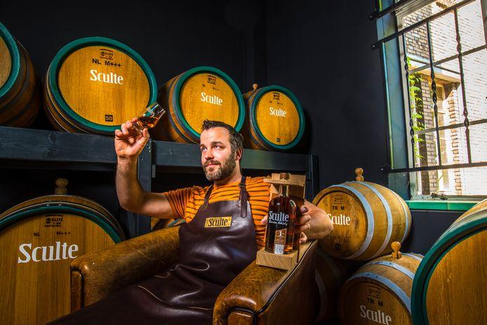 Whiskeystokerij Sculte's nieuwste whiskey in drie uur tijd uitverkocht.
