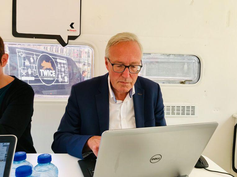 Rudy Coddens, lijsttrekker voor sp.a in Gent.