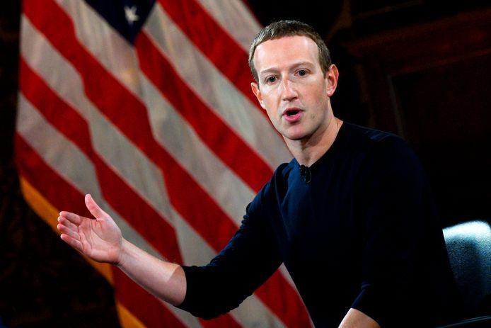 Facebook-topman Mark Zuckerberg