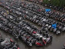 Verbod op oude scooters in Amsterdam