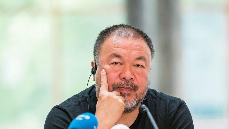 Kunstenaar Ai Weiwei is ook te gast in College Tour. Beeld epa