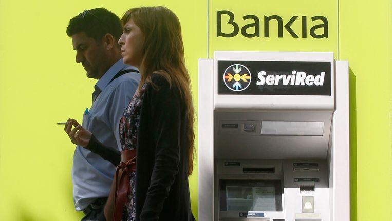 De Spaanse bank Bankia. Beeld REUTERS