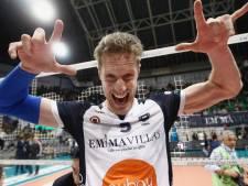 Volleyballer Kay van Dijk uit Oosterbeek feest in Toscane