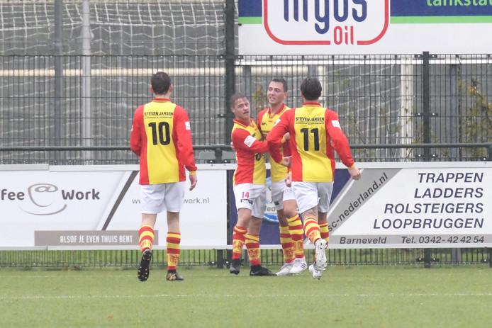 CSV Apeldoorn neemt het zaterdag op tegen DOS Kampen in de eerste klasse D.