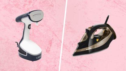 Een kledingstomer versus een strijkijzer: wat is het handigste?