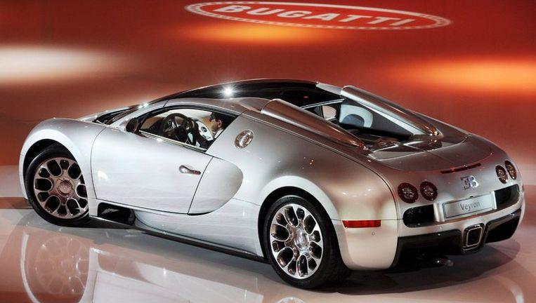 Een Bugatti Veyron. Foto EPA Beeld