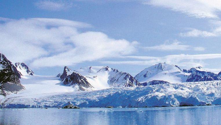 Spitsbergen. De Hollandse of Mauritiusbaai. Beeld Louwrens Hacquebord/Ben Bekooy