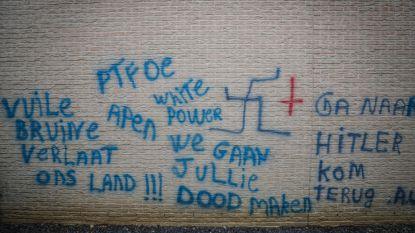 """Nog geen doorbraak na racistische graffiti in Limburg: """"Camerabeelden worden volop verzameld"""""""