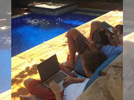 Werken vanuit paradijselijk Bali: bij dit Enschedese bedrijf kan het