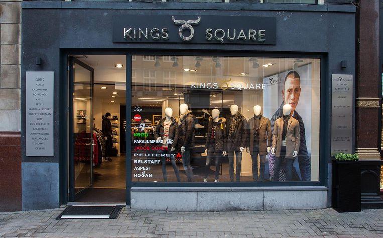 Onder meer modewinkel Kings Square doet mee aan de bezorgdienst Beeld Miinto