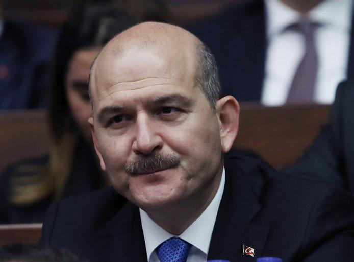 Suleyman Soylu, minister van Binnenlandse Zaken van Turkije