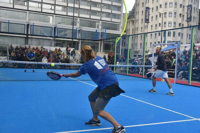 Sabine Appelmans en Thomas Buffel namen het onder meer tegen Olivier Rochus op.