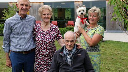Wieza en Gust vieren 65 jaar huwelijk