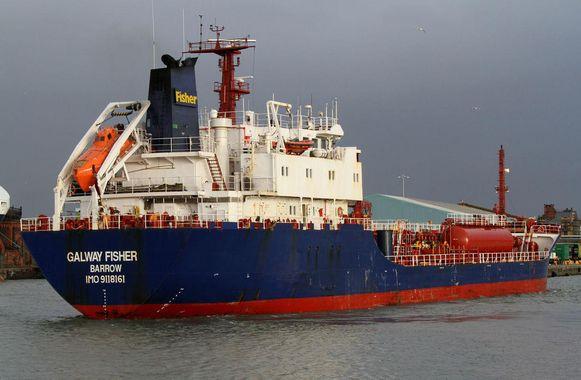 De tanker Galway Fisher. Archiefbeeld.