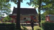 Brand treft eeuwenoude brouwerij in Bokrijk, schouw vat vuur tijdens brouwproces