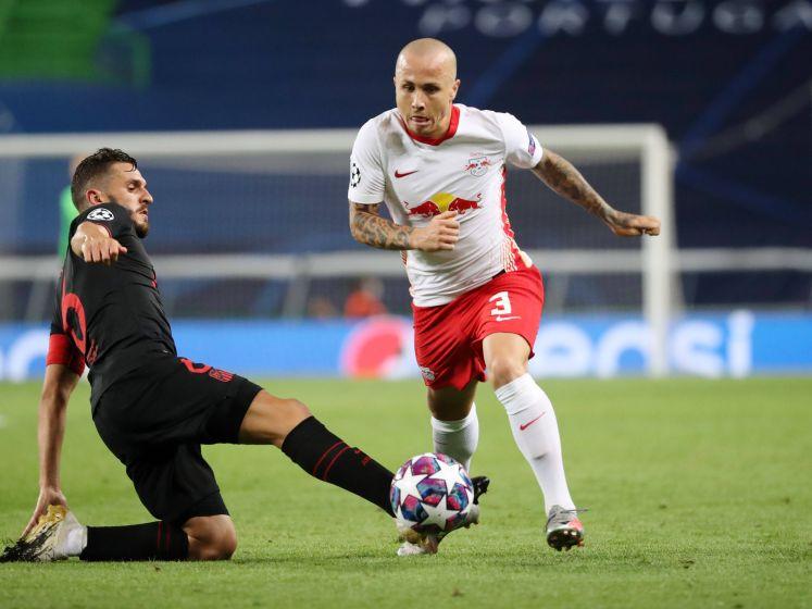 Assist Angeliño helpt RB Leipzig naar halve finale Champions League