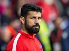 Diego Costa weigert te trainen, Simeone verdedigt hem