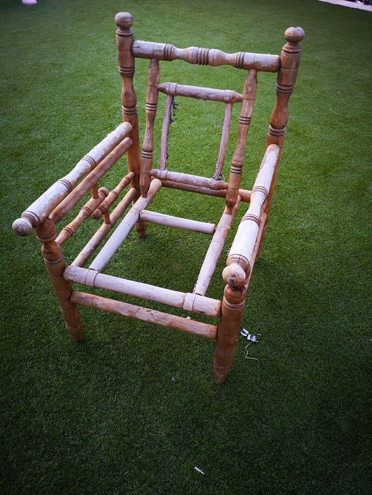 De Saudische stoel