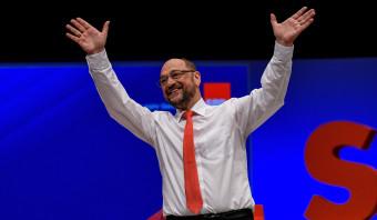 De Schulz-hype is voorbij, maar hij houdt dapper vol