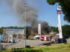 Grote verwoestende brand bij wegrestaurant De Lichtmis is geblust