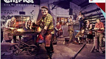Stadsmagazine Chipka pakt uit met opvallende cover: D'Haese en zijn schepenen smeden het ijzer als het heet is